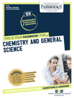 CHEMISTRY AND GENERAL SCIENCE