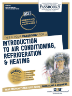INTRODUCTION TO AIR CONDITIONING, REFRIGERATION & HEATING