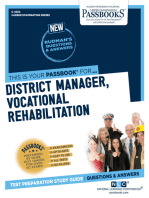 District Manager, Vocational Rehabilitation