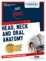 DENTAL AUXILIARY EDUCATION EXAMINATION IN HEAD, NECK AND ORAL ANATOMY