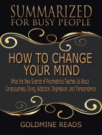 How to Change Your Mind - Summarized for Busy People