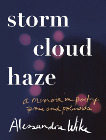 Storm Cloud Haze: A memoir in poetry, prose and polaroids