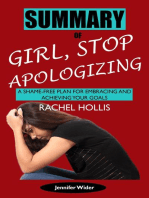 Summary of Girl, Stop Apologizing by Rachel Hollis