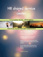 HR shared service center A Complete Guide - 2019 Edition