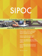 SIPOC A Complete Guide - 2019 Edition