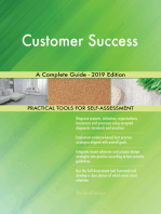 Customer Success A Complete Guide - 2019 Edition