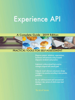 Experience API A Complete Guide - 2019 Edition