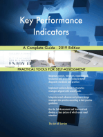 Key Performance Indicators A Complete Guide - 2019 Edition