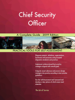 Chief Security Officer A Complete Guide - 2019 Edition