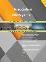 Association management A Complete Guide - 2019 Edition