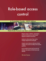 Role-based access control A Complete Guide - 2019 Edition