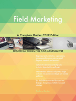 Field Marketing A Complete Guide - 2019 Edition