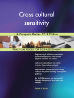 Cross cultural sensitivity A Complete Guide - 2019 Edition