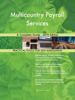 Multicountry Payroll Services A Complete Guide - 2019 Edition