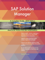 SAP Solution Manager A Complete Guide - 2019 Edition