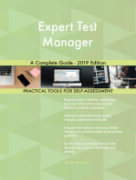 Expert Test Manager A Complete Guide - 2019 Edition