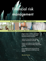 Financial risk management A Complete Guide - 2019 Edition