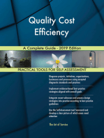Quality Cost Efficiency A Complete Guide - 2019 Edition