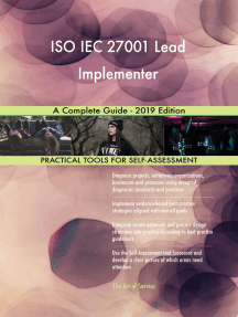 ISO IEC 27001 Lead Implementer A Complete Guide - 2019 Edition
