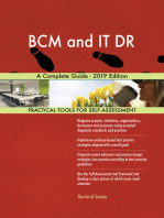 BCM and IT DR A Complete Guide - 2019 Edition