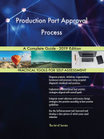 Production Part Approval Process A Complete Guide - 2019 Edition