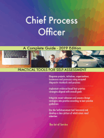 Chief Process Officer A Complete Guide - 2019 Edition