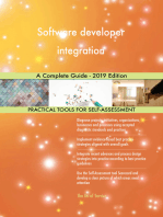 Software developer integration A Complete Guide - 2019 Edition