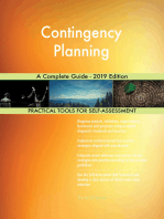 Contingency Planning A Complete Guide - 2019 Edition
