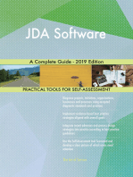 JDA Software A Complete Guide - 2019 Edition