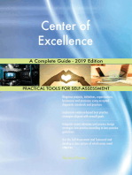 Center of Excellence A Complete Guide - 2019 Edition