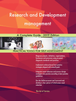 Research and Development management A Complete Guide - 2019 Edition