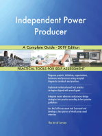 Independent Power Producer A Complete Guide - 2019 Edition