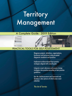 Territory Management A Complete Guide - 2019 Edition