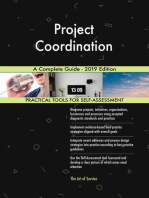 Project Coordination A Complete Guide - 2019 Edition