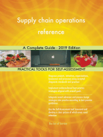 Supply chain operations reference A Complete Guide - 2019 Edition