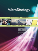 MicroStrategy A Complete Guide - 2019 Edition
