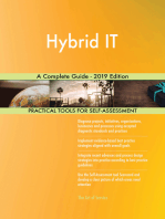 Hybrid IT A Complete Guide - 2019 Edition