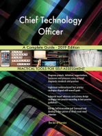 Chief Technology Officer A Complete Guide - 2019 Edition