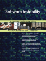 Software testability A Complete Guide - 2019 Edition
