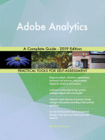 Adobe Analytics A Complete Guide - 2019 Edition