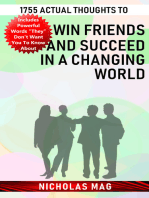 1755 Actual Thoughts to Win Friends and Succeed in a Changing World