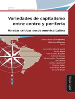 Variedades de capitalismo entre centro y periferia: Miradas críticas desde América Latina