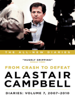 Alastair Campbell Diaries: Volume 7: From Crash to Defeat, 2007-2010