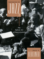 Thinking in Jazz: The Infinite Art of Improvisation