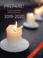 Prepare! 2019-2020 CEB Edition
