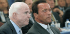 Schwarzenegger Steps In to Defend John McCain's Legacy