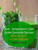 Anti – Inflammatory Diet Green Smoothie Recipes - Baby Spinach in Every Recipe!