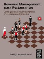 Revenue Management para Restaurantes: Cómo gestionar mejor los ingresos en el negocio gastronómico