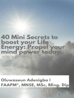 40 Mini Secrets to boost your Life Energy