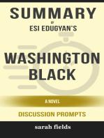 Summary of Washington Black